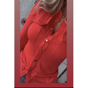 Blouse soft red